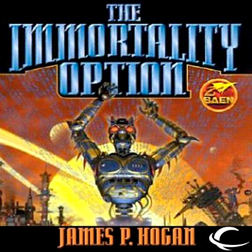 The Immortality Option audiobook cover art