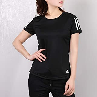 adidas 阿迪达斯女装 春季 运动服时尚舒适耐磨短袖休闲圆领T恤