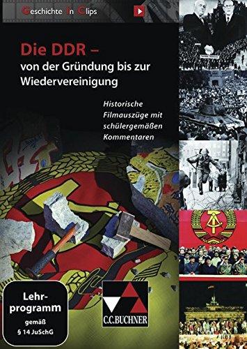 Die DDR - von der Gründung bis zur Wiedervereinigung, DVD