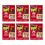Raid Double Control, Large Roach Baits 0.70 Ounce (Pack of 6)