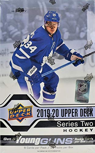2019/20 Upper Deck Series 2 NHL Hockey HOBBY box (24 pks/bx)