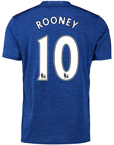 Trikot Adidas Manchester United 2016-2017 Away (Rooney 10, 176)