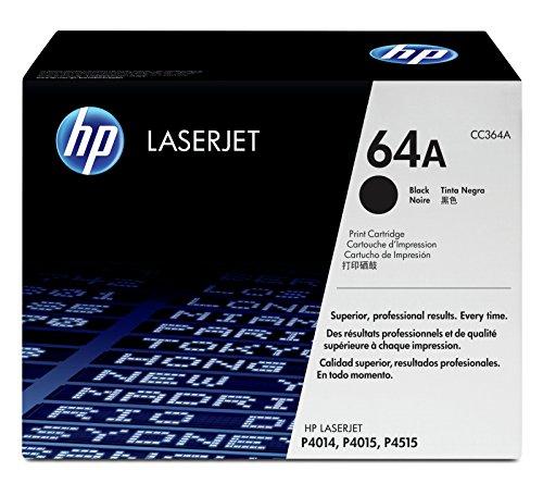 HP 64A (CC364A) Schwarz Original Toner für HP Laserjet P4015, HP Laserjet P4515
