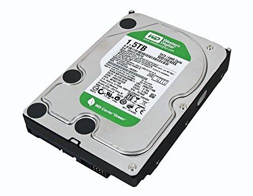 WD15EARS Western Digital WD15EARS SATA-Festplatte, 1,5 TB, 7200 U/min, Walt