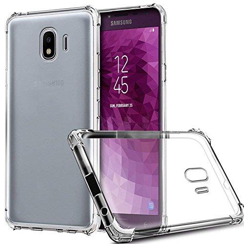 Capinha Anti Impacto Shock Capa para Samsung Galaxy J4 Plus (J4+ 2018), Transparente