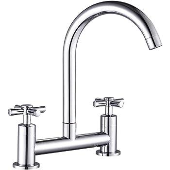 Futuristic italian design kitchen sink faucet mono modern mixer tap single lever