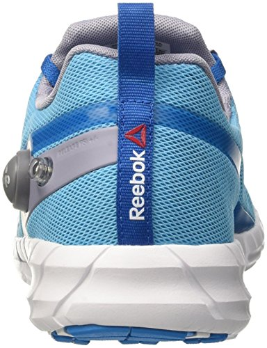 Reebok Zpump Fusion, Zapatillas de Running para Mujer, Multicolor (Blue/Blue/Prpl/Slvr/), 37 EU