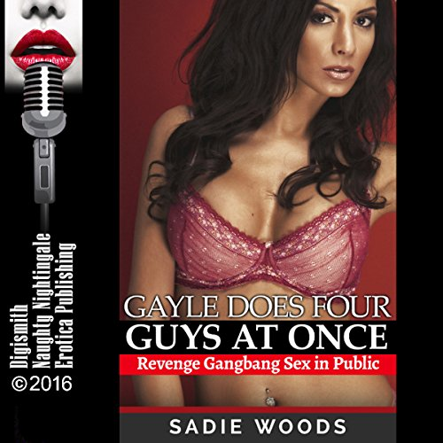 Gayle Does Four Guys at Once audiobook cover art
