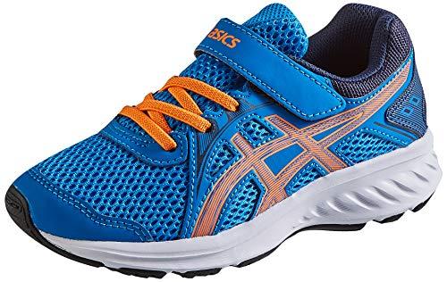 Asics JOLT 2 PS, Zapatos para Correr Unisex niños, Directoire Blue/Orange Cone, 33.5 EU