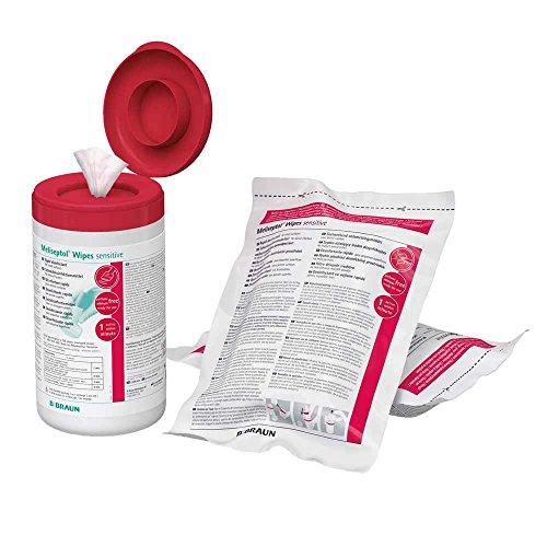 B.Braun Meliseptol Wipes - Toallitas desinfectantes (60 unidades)