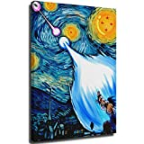 Vincent Van Gogh Starry Night Poster Dragonball Z Starry Night Art Prints 12' x 18' Painting Prints Modern Room Decor, Stretched and Ready to Hang