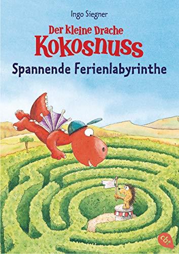 Der kleine Drache Kokosnuss - Spannende Ferienlabyrinthe: Rätsel-Block