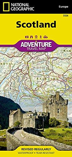 اسكتلندا (National Geographic Adventure Map)