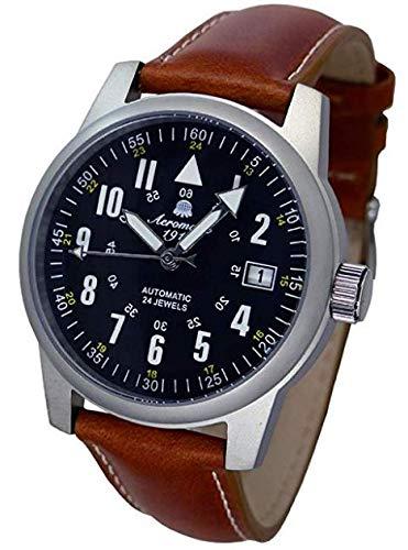 40mm Flieger Uhr mit Automatik Werk Modell Nr. A1372X