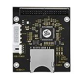 Fosa 2.5インチマイクロSD / TF IDE 40ピンオスメモリカードアダプタ DOS/Linux/Windows MMCシステム用 仕様2.0などの4脚コンピュータ電源コネクタ