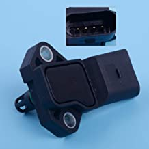 StoreNO12345 - Car 3 Bar Manifold Absolute Pressure Map Sensor Fit For Audi A3 A4 Vw Golf Jetta Beetle Passat Turbo For Skoda