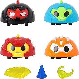 Creacom ジャイロ 指 スピナー フィンガージャイロ スピニングトップ 子供 教育玩具 ミニ カラフル かわいい 装飾 おもちゃなど幅広い用途 贈り物 4個