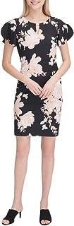 Womens Keyhole Sheath Dress