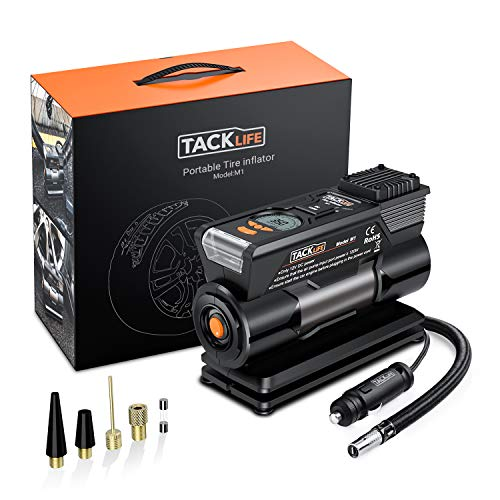 TACKLIFE M1 Compresor Aire Coche, 40L / Min Inflador...