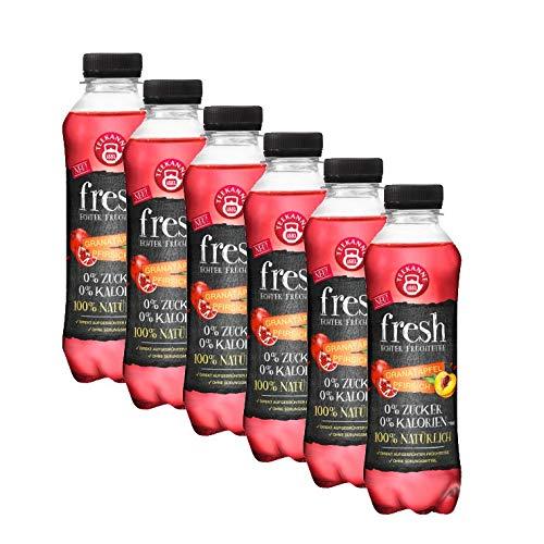 Teekanne fresh Granatapfel Pfirsich, 6er Pack ( 6 x 0,5 l ) EINWEG