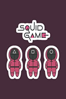 """Squid Game Notebook: Gift Notebook Journal for Squid Game Lover . Blank Line Journal notebook To Write in 