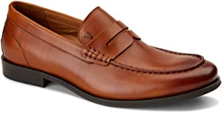 Vionic Men's Spruce Snyder Loafer - Leather Loafers with Concealed Orthotic Arch Support