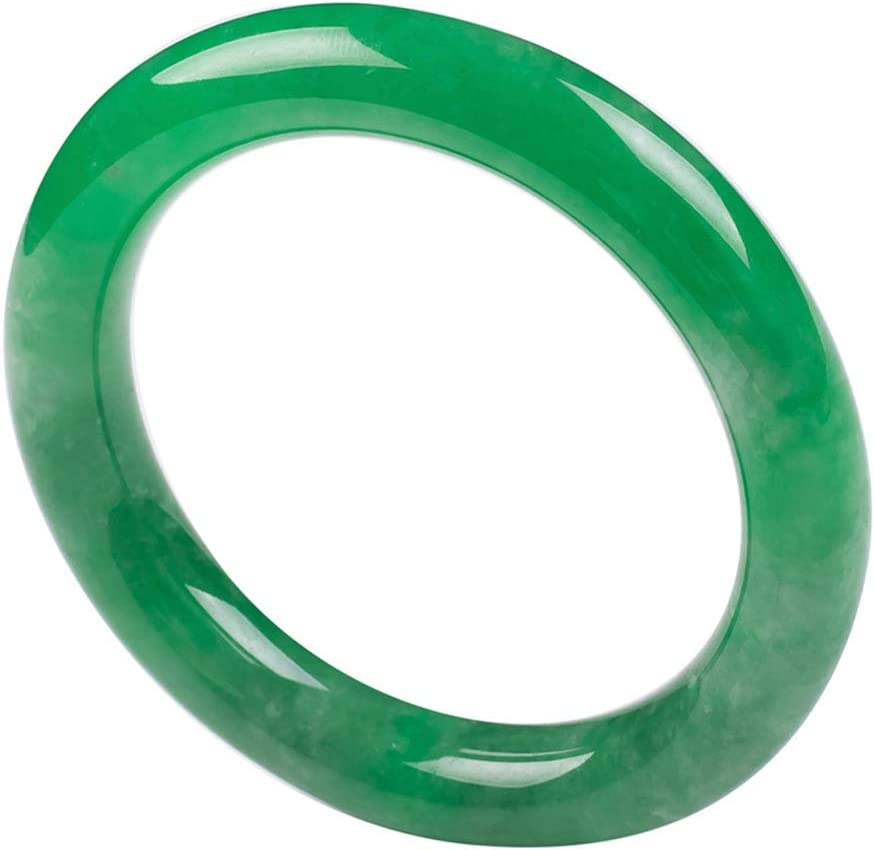 LY Natural Emerald Round Floating fo Ranking latest TOP20 Jade Bracelet Flower Bangle