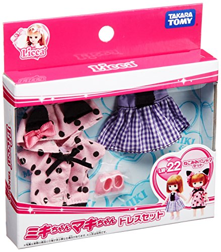Dress Set Nekomimi pajama set Maki Rika-chan LW-22 Miki (japan import)