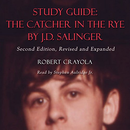 Study Guide: The Catcher in the Rye by J.D. Salinger                   By:                                                                                                                                 Robert Crayola                               Narrated by:                                                                                                                                 Stephen Paul Aulridge Jr                      Length: 1 hr and 9 mins     7 ratings     Overall 3.6