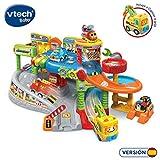 VTech- Bólidos Playset Taller Mecánico Interactivo con Luces Y Voces, Multicolor, Talla Única (80-512722)