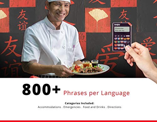 Franklin 16 Language Speaking Phrase Translator EST-4016 (Renewed)