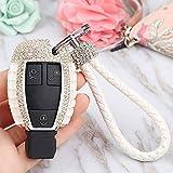 WDNMDQZ Couvercle de clé de voiturepour Mercedes Benz W204 W205 CLS CLA GL R SLK AMG...