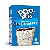 Pop-Tarts, Breakfast Toaster Pastries, Frosted Blueberry, Proudly Baked in the USA, 13.5oz Box (4 Count)