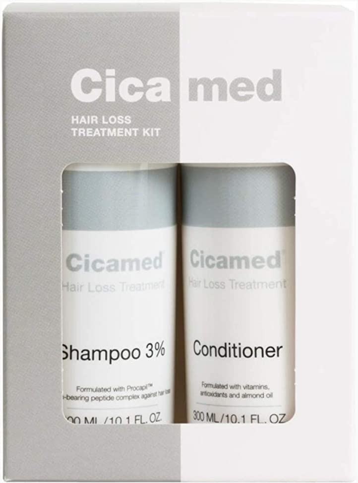 Organic Science Hair Loss Treatment Shampoo 3% Procapil and Conditioner for Hair Regrowth and Follicle Stimulating Set