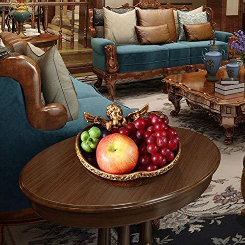 Bandeja de fruta para fruta, bandeja creativa para salón, mesa de café, bandeja de frutas secas, decoración de escritorio para el hogar, 22 x 20 cm
