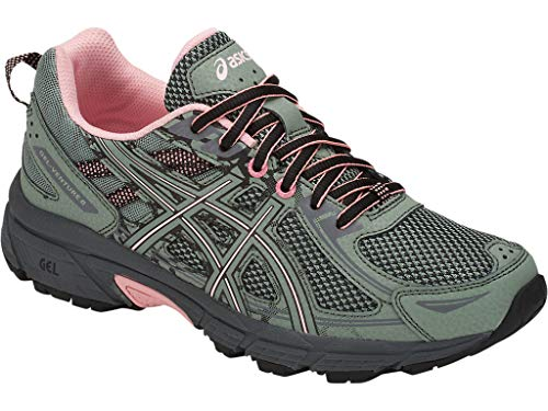 ASICS Women's Gel-Venture 6 Trail Running Shoes, 10M, Slate Grey/Frosted Rose 3