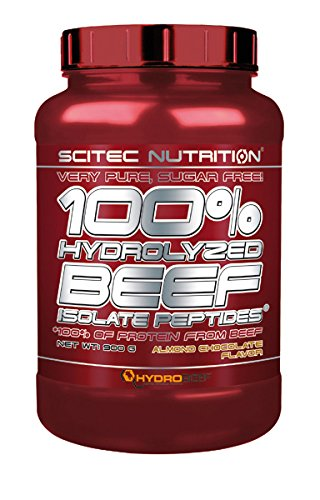 Scitec Nutrition 100% Beef Protein Concentrate Chocolate de almendra 900 g