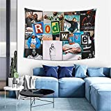 Aoxinquji Rod Wave Tapestry Wall Hanging Home Decoration Wall Blanket Dormitory Living Room Bedroom Backdrop Poster(60x40inch)