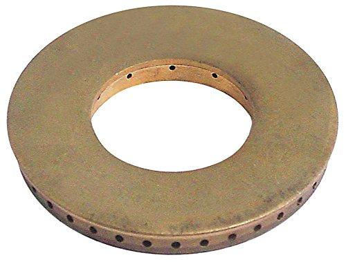 Palux Brennerdeckel für Gasherd Küppersbusch mit Mittelloch ø 94,50mm Brennertyp D
