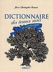 Dictionnaire des termes rares et littéraires de Jean-christophe Tomasi