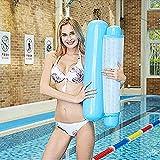COWINN Cama hinchable para piscina 4 en 1, hamaca de agua, tumbona para piscina, tumbona hinchable...