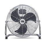 Cool Clima - Ventilador metálico (100 W, 40 cm)