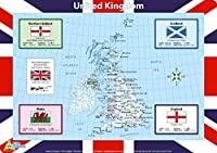 Little Wigwam United Kingdom Placemat [並行輸入品]