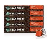 Starbucks by Nespresso, Single-Origin Colombia (50-count single serve capsules, compatible with Nespresso Original Line System)