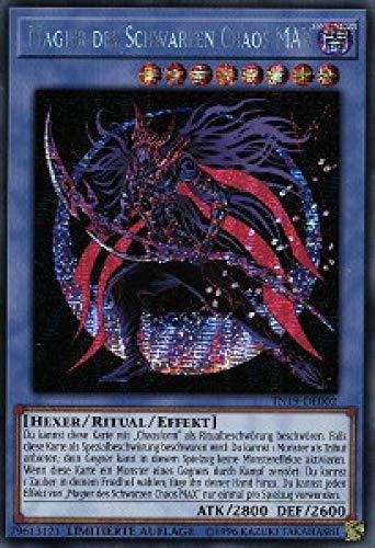 Konami TN19-DE002 Magier des Schwarzen Chaos MAX (Secret Rare)