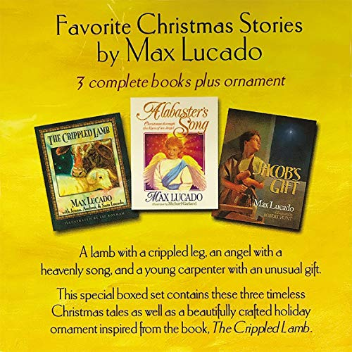 The Max Lucado Christmas Collection audiobook cover art
