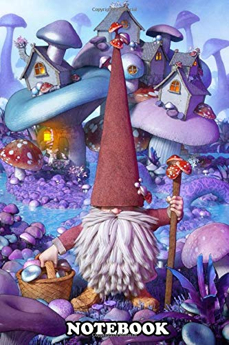 Notebook: Gnome Of Wonder Board Game , Journal for Writing, College Ruled Size 6' x 9', 110 Pages