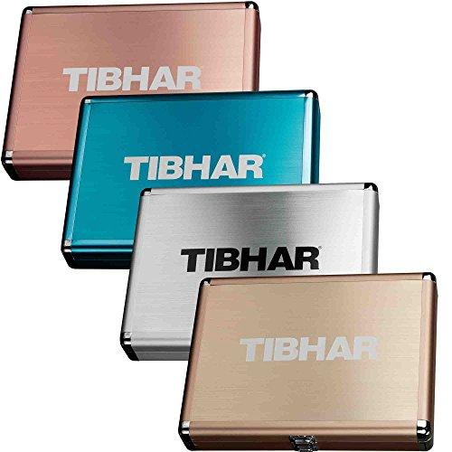 Tibhar Schlägerkoffer Alum Cube Exclusive, Bronze