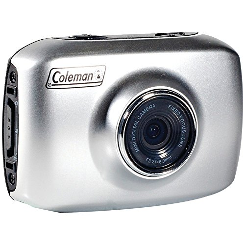 Coleman Xtreme CX5 Touch Screen Waterproof HD Digital Action Camera Camcorder with Bike and Helmet Mounts for Extreme Sports, Outdoor & Underwater Activities