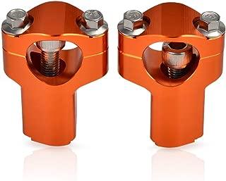 52Mm Handlebar Raiser For Ktm 125 150 200 250 300 350 400 450 500 525 530 Sx Xc Exc Xcw 690 790 1090 1190 1290 Adventure Enduro (Orange)